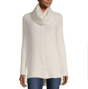 NWT Liz Claiborne tunic sweater and scarf